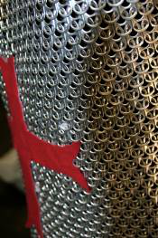 Example of a prop made from soda can tabs